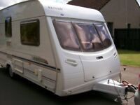 lunar astara 2 berth 2005 full end washroom motor mover full awning and porch awning mint condition