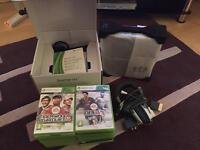 Xbox360 Slim 250GB + Games