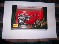 diecast model motorbikes 1:18 scale