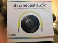 Google Chromecast Audio Practically Brand New!!