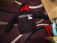 Lighting Mcqueen coat 7-8 yr old used as new