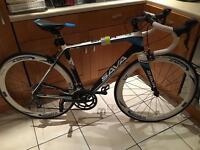 Carbon fiber racing bike