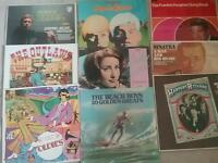 Vinyl Lps 60s,originals,played once,as new £5 each.