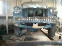 Austin. Morris Classic pickup. Van. Parts wanted for half ton van or pickup wanted.