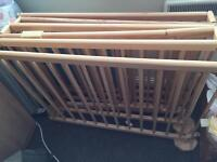 Large playpen wooden