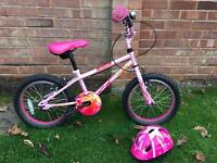 Girls Pink Bike for age 5-7