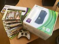 XBOX 360 Console, Kinect & Game Bundle