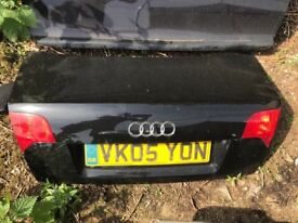 Audi A4 B7 complete boot lid tailgate