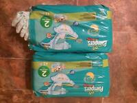 Pampers Baby Dry Nappies - Size 2