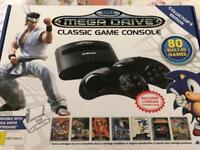 Sega mega drive with 80+ Games