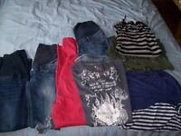BUNDLE OF SIZE 8-10 MATERNITY WEAR