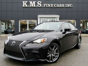 2014 Lexus IS 250 F-SPORT SERIES2| AWD| NAVI| CLEAN CAPROOF
