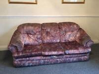 Three piece suit/ sofa