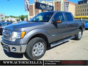 2013 Ford F-150 XTR ECO BOOST SUPER CREW CAB ALLOYS 4X4 145 BOX
