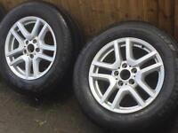 BMW X5 alloy wheels and Tyres
