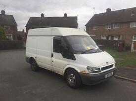 2002 transit drives fine , rougher than a smack head