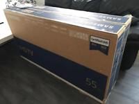 "Black Friday Bargain Samsung 55"" LED Smart 4K UltraHD HDR FreeViewHD 2160p *BRAND NEW SEALED*"