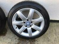 Mercedes Benz alloys 245 45 17 SL -E -R -S -CLS