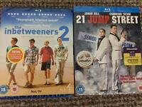 The Inbetweeners 2 and 21 Jump Street (New Sealed) Blu-Ray