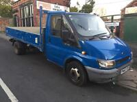 Ford transit twin wheel pick up 12 ft 125 ps 2002