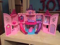 Barbie The Princess and The Popstar Musical Light Castle Playset