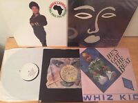 Selection of hiphop vinyls