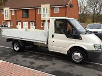 2007 ford transit dropside pickup 1 owner full history not tipper MUST BE SEEN NO VAT