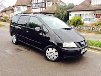 2006 VW VOLKSWAGEN SHARAN S TDI 1.9L DIESEL AUTOMATIC 7 SEATER (NOT ZAFIRA VW GALAXY )