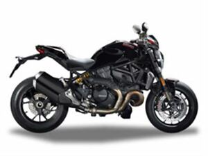 2017 Ducati Monster 1200 R Thrilling Black