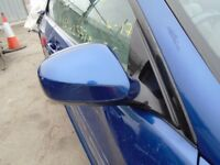 2010 BMW E93 WING MIRROR DRIVER SIDE RIGHT LEMANS BLUE M SPORT POWER FOLD #5269