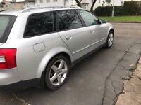 Audi A4 estate 2.0 petrol 8 Months m.o.t.