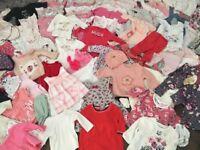 Huge baby girls bundle 0-6 months