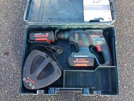 Boch 36v cordless SDS drill