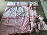 Lollipop lane cot bed set