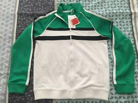 Boys zip top m&s age 13-14 years new with tags