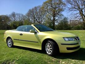 * 2006 Saab 9-3 2.0 T Linear 2dr Convertible Now only £1675 *