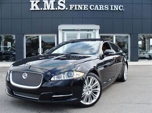 2012 Jaguar XJ XJL Supercharged| 470HP| DVD| CLEAN CARPROOF