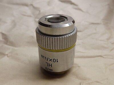 Leitz Hl 10x0.20 Infinity Microscope Objective Lens