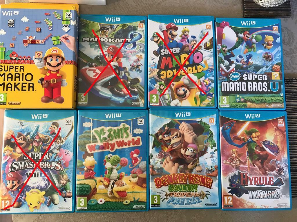Wii U Games : Best nintendo wii u games bundle mario maker zelda yoshi