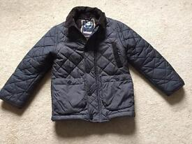 NEXT BOYS QUILTED JACKET COAT AGE 6