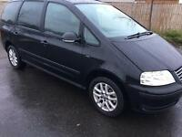 2008 VOLKSWAGEN SHARAN 1.9 TDI DIESEL 6 SPEED MINT CONDITION DRIVES A1LONG MOT NOT TOURAN ZAFIRA