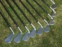 Snake Eyes Golf Clubs and Benross 2 Hybrids