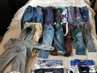 Bundle clothes 2/3 boys