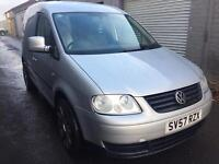 SALE! Vw caddy c20 tdi, long MOT ready for work
