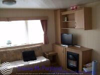 Fully heated Static Caravan for Hire at Golden Sands in Mablethorpe near Skegness
