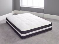 NEW 3D AIR FLOW QUILTED MEMORY FOAM ORTHOPEAEDIC MATTRESS 3ft Single 4ft6 Double 5ft King