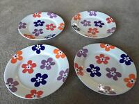 Whittard of Chelsea Flower Pattern Plates
