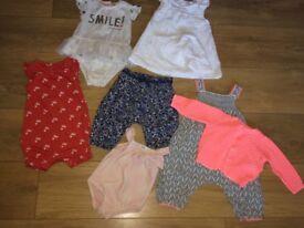 Girls 3-6months Items/Outfits. Little White Company. Autograph. Mamas & Papas.Next etc...
