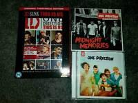 1D dvd+ 5 post cards + 2 cd's