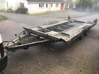 Ivor Williams ct177 car trailer